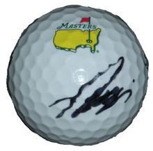Ryo Ishikawa Autographed Titleist Official Masters Golf Ball