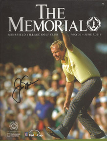 Jack Nicklaus Autographed 2011 Memorial Tournament Program