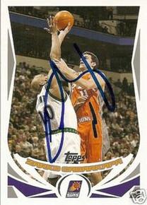 Zarko Cabarkapa Signed Phoenix Suns 2004-05 Topps Card