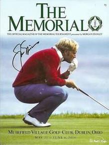 Jack Nicklaus Signed 2010 Memorial Tournament Program