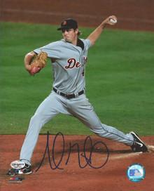 Andrew Miller Autographed Detroit Tigers Action 8x10 Photo