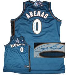 Gilbert Arenas Signed Washington Wizards Jersey