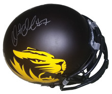 Maty Mauk Autographed Missouri Tigers Mini Helmet