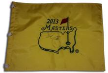 Adam Scott Autographed 2013 Masters Tournament Golf Pin Flag