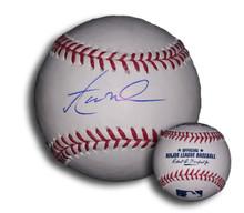 Aaron Nola Autographed Official Major League Baseball Philadelphia Phillies