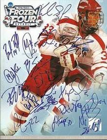 2009-2010 Boston College Team Signed Frozen 4 Program