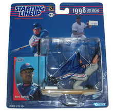 David Justice Signed Cleveland Indians Starting Lineup