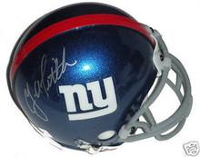 Y.A. Tittle Signed New York Giants Mini Helmet