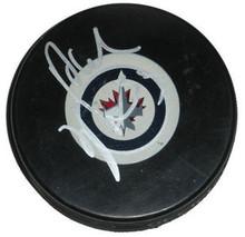 Dustin Byfuglien Signed Winnipeg Jets Hockey Puck