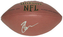 Brady Quinn Signed NFL Football Cleveland Browns