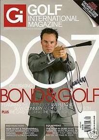 Trevor Immelman Signed Golf International Magazine