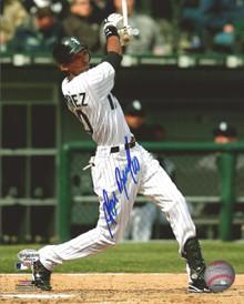 Alexei Ramirez Autographed Chicago White Sox 8x10 Photo