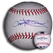 Carlos Pena Autographed MLB Baseball Chicago Cubs