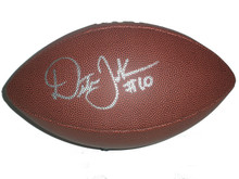 Dexter Jackson Signed NFL Football Appalachain State