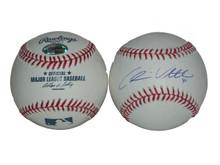 Chris Volstad Signed MLB Baseball Florida Marlins