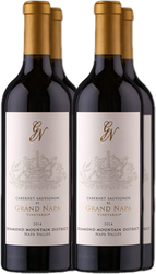 97pt Grand Napa Diamond Mountain Cabernet Sauvignon 2014