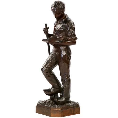 Francois Auguste Hippolyte Peyrol (French, 1856-1929) Bronze Sculpture