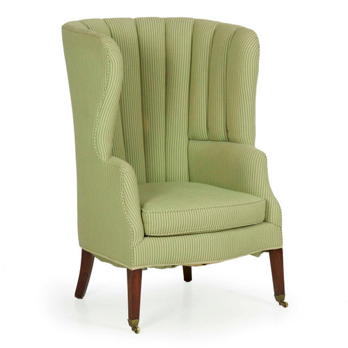 English Georgian Mahogany Barrel-Back Arm Chair