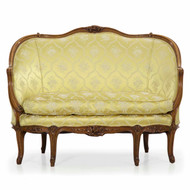 French Louis XV Style Canapé Sofa, 19th Century