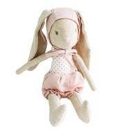 Baby Girl Bunny in Bonnet