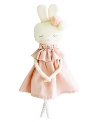 Isabelle Bunny Pink Linen