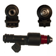 212 lb/hr Siemens Deka Fuel Injectors Low Impedance Gas & Flex Fuel Injectors (Long Style) EV1 Connector
