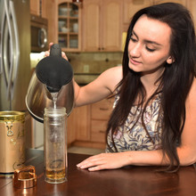 Stylish Glass Tea Infuser Set
