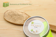 Botanical Products Inc. Organic Maca Root powder is one of the most powerful root powders available on the market.  Our premium Peruvian Organic Maca Root Powder is undeniably one of the highest qualities available. Our team does not start with a product, but with a passion to bring the purest and the highest quality to our clientele first. Botanical Products Inc. Organic Maca Root Powder is truly the result of constant reinvention and the desire to push for more.  To go beyond the expected is what our company core values stand for. Our Organic Maca Root Powder brilliantly displays our core value: Only the best quality botanicals at all times.       Organic Maca Root powder is truly a marvellous herbal product matched only by a few.