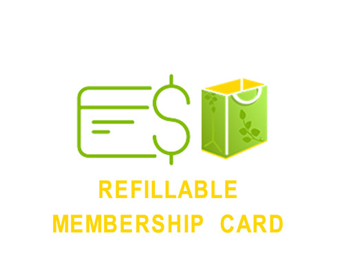 Refillable Membership Card