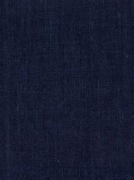 Jefferson Linen 55 Navy Linen Fabric