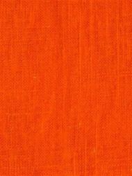 Jefferson Linen 321 Tangerine Linen Fabric