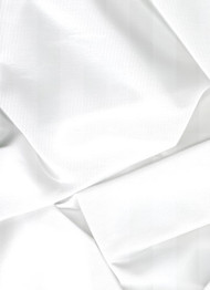 White Iridescent Taffeta Fabric