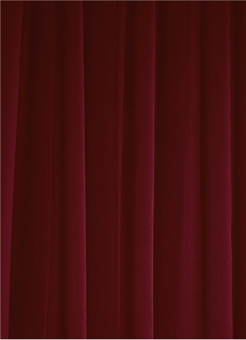Burgundy Sheer Dress Fabric