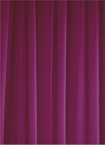 Fuchsia Sheer Dress Fabric