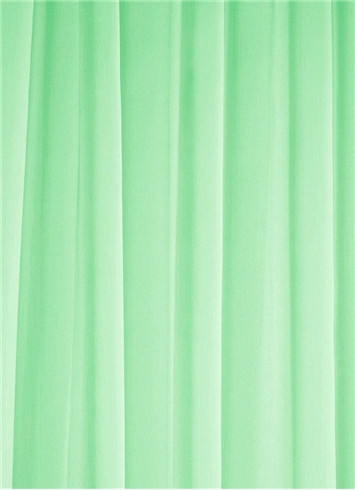 Mint Sheer Dress Fabric