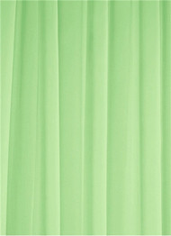Apple Green Sheer Dress Fabric