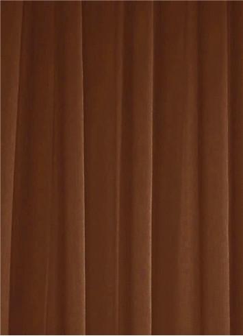 Chocolate Sheer Dress Fabric
