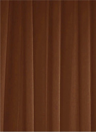 Chocolate Sheer Dress Fabric