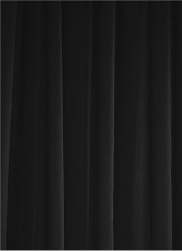 Black Sheer Dress Fabric