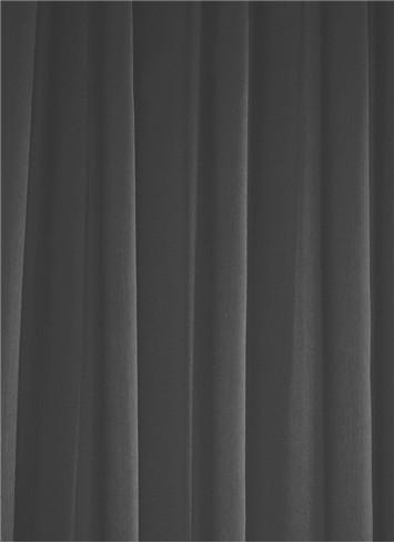 Charcoal Sheer Dress Fabric