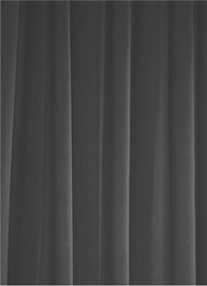 Charcoal Sheer Dress Fabric