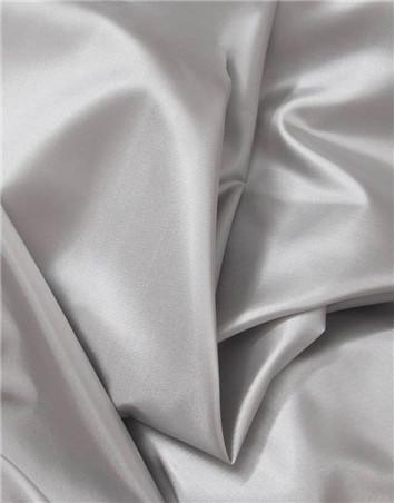 Silver dress lining fabric
