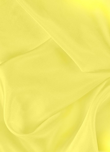 Lemon dress lining fabric