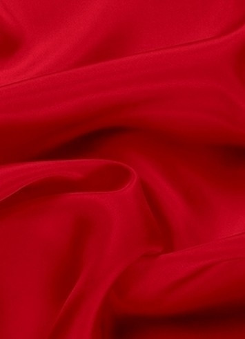Red dress lining fabric