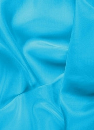Turquoise dress lining fabric