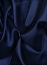 Navy dress lining fabric