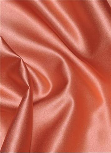 Papaya Duchess Satin Fabric
