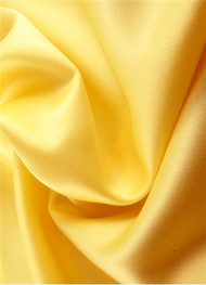 Canary Yellow Duchess Satin Fabric
