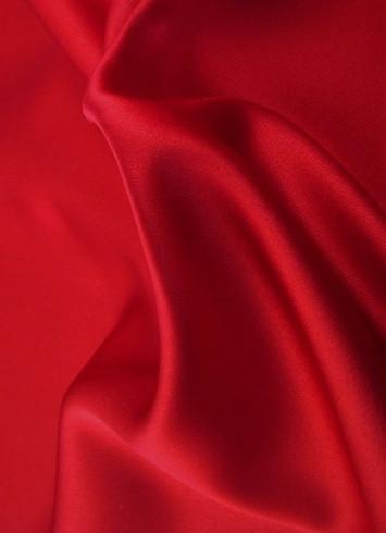 Valentine Red Duchess Satin Fabric