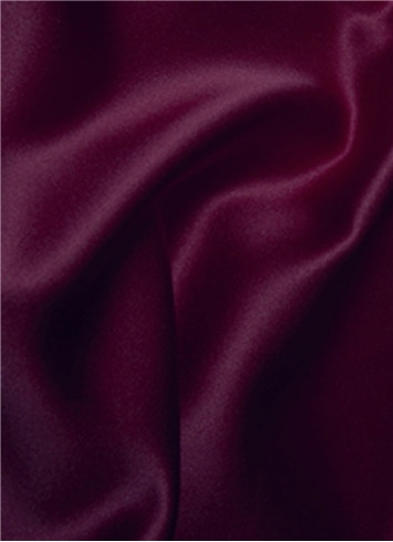 Ultra Burgundy Duchess Satin Fabric